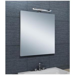 Miroir de salle de bains avec spot LED Horizontale - 65 cm x 60 cm (HxL) - PRADEL