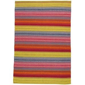 Tapis tissé jacquard multicolore 140 x 200 cm KIGALI
