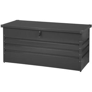 Coffre de rangement gris foncé 132 x 62 cm CEBROSA - BELIANI