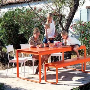 Fermob Table BELLEVIE - 46 bleu lagune satiné