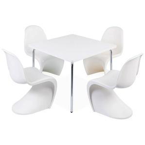 Table enfant Olivier - 4 chaises Panton