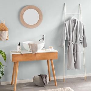Tapis de Bain Bamboo Beige 50x80 cm - Tapis pour salle de bain