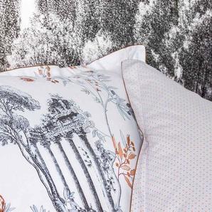 Parure de lit VIA ANTICA en percale de coton