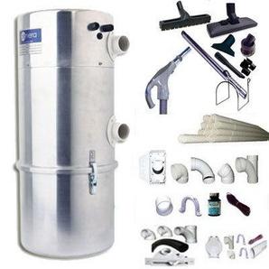 Aspirateur central AENERA 2100 PLUS II garantie 2 ans (jusquà 400 m²) + trousse inter 9 ML + 8 accessoires + kit 4 prises + kit prise balai + kit prise garage