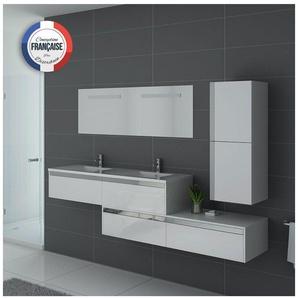 Meuble de salle de bain BELLISSIMO Blanc - DISTRIBAIN