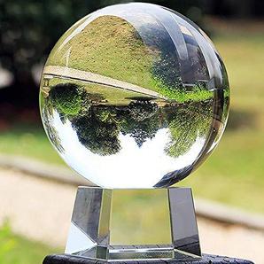 FD2LB1NVL K9 Boule De Cristal avec Support, Accessoire De Décoration dart en Cristal pour La Photographie, Décoration, Décoration, Fête, Exposition Et Cadeau
