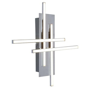 OTOK-Applique murale LED 4 Lumières L42cm Chrome Inspire