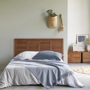 Tête de lit en bois dacajou 160 Loggia