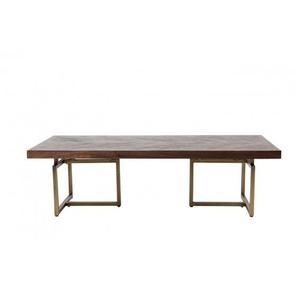 Table basse Class bois et métal