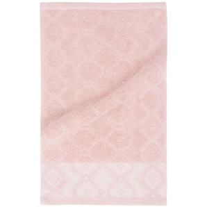 Serviette en coton motifs graphiques 30x50