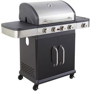 Barbecue Gaz 4 Brul. Rechaud Fidgi - GARDEN MAX