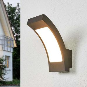 Applique dextérieur LED Juvia grise, IP54