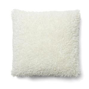 Housse coussin Janine 45 x 45 cm blanc