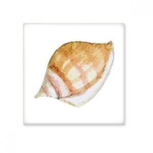 DIYthinker Coloré Snail Vie Marine Illustration Brillant Carrelage Céramique Salle de Bain Cuisine Mur Artisanat Décoration Pierre Cadeau L