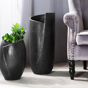Vase décoratif noir MURSA
