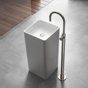 Hotbath Cobber Mitigeur lavabo sur pied laiton brossé PVD CB078WBBP