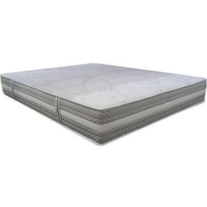 Matelas Essenzia SPRING 600 Ferme 150x200 STRETCH Ressorts - Blanc