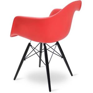 Chaise DAW - Rouge vif