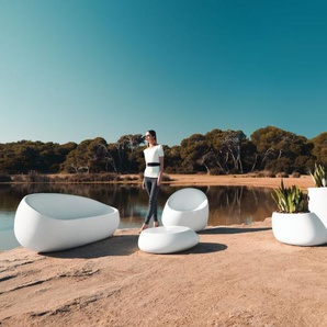 Vondom Chaise Stone Lounge - orange - verni
