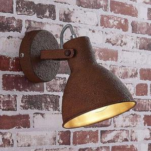 Spot Daniela, couleur rouille, 1 lampe