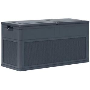 Boîte de rangement de jardin 320 L Anthracite - VIDAXL