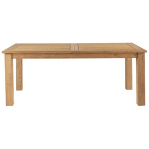 Table à rallonge de jardin en teck recyclé L200 Cassiopee
