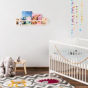 Tapis enfant Fantasia Mauve 140x200 cm - Tapis pour chambre denfants/bébé