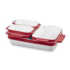 Set céramique de  cuisson rouge KBLR05SBER Kitchenaid