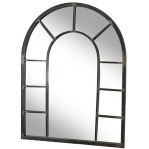 Miroir rivoli en métal ancien