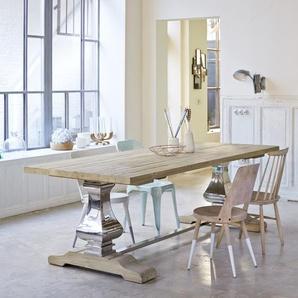 Table en bois de pin 240x100 Rousseau