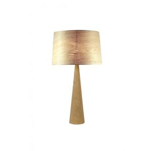 Lampe à poser Totem LT en bois naturel
