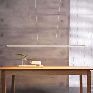 Suspension LED Marga, longueur variable, blanche