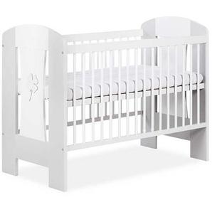 Lit bébé 120x60 Nati - Blanc