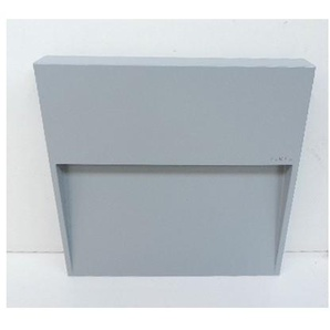 Encastré mural extérieur LED 12.5W gris carré 200X200X30mm indirect 4000K 405lm 230V IP65 SKILL SIMES S.6260N.14