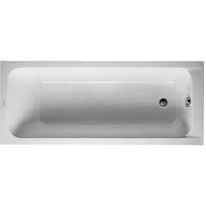 Baignoire Duravit D-code 1700 x 700 mm - avec pieds - Acrylique Blanc