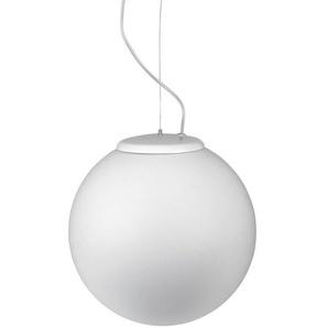 Suspension 30 cm Cisne, aluminium et PPMA, blanc - LEDS C4