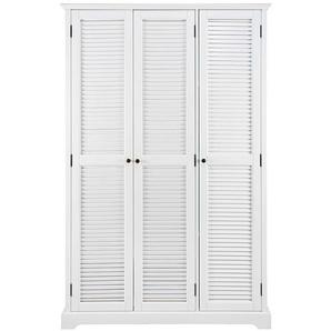 Dressing 3 portes blanc mat Barbade