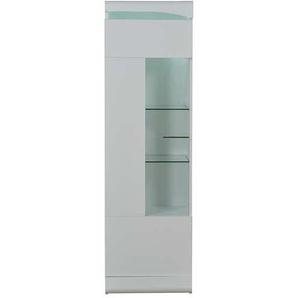 Colonne vitrée L.50 cm OVIO coloris blanc