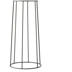 Menu Wire Base 606 - Cadre 60cm - noir/peint par poudrage/H 60cm, Ø 23cm