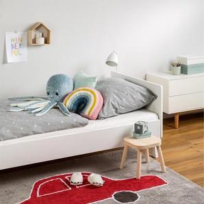 Tapis lavables pour enfants Bambini Car Rouge 120x160 cm - Tapis lavable pour chambre denfants/bébé