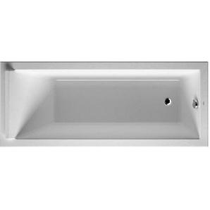 Baignoire Duravit Starck 1700 x 750 mm - avec pieds - Acrylique Blanc