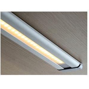 Réglette leds 48 - : - Puissance : 7,5 W - : - Fixation : En applique - Couleur de la lumière : Blanc chaud - Indice de protection : IP 20 - Décor : Aluminium - Type déclairage : LED - Longueur  - VOKIL