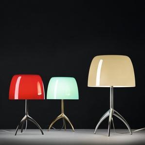 Foscarini Lampe de table Lumiere Piccola - blanc - non dimmable - Aluminium