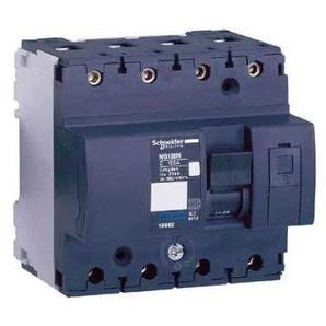 Multi9 NG125L - disjoncteur modulaire - 4P - 16A - courbe C - 18822 - SCHNEIDER