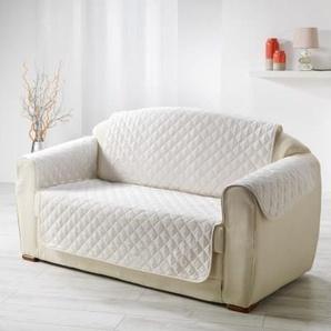 DOUCEUR dINTERIEUR Protège fauteuil matelassé Club 165x179 cm  naturel