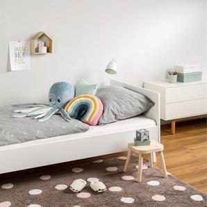 Tapis lavables pour enfants Bambini Dots Rose 150x225 cm - Tapis lavable pour chambre denfants/bébé