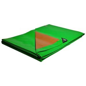 Toile 8 x12 m Pergola et tonnelle 250g/m² Traitée Anti UV Bâche verte et marron polyéthylène haute qualité - UNIVERS DU PRO