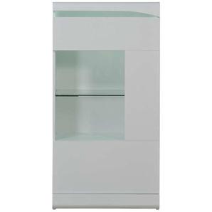 Colonne vitrée L.70 cm OVIO coloris blanc