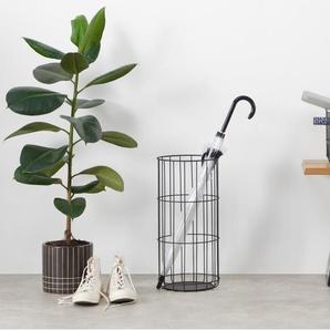 Essentials - Moss, porte-parapluies, métal noir