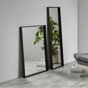 Wilson, miroir mural 40 x 140 cm, noir